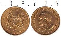 Кения 5 центов 1978 Медь