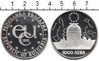 Изображение Монеты Болгария 1000 лев 1995 Серебро Proof