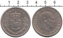Изображение Монеты Дания 5 крон 1966 Медно-никель UNC Фредерик IX.