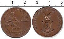 Изображение Монеты Филиппины 1 сентаво 1944 Бронза XF
