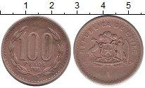 Изображение Монеты Чили 100 песо 1981 Латунь XF