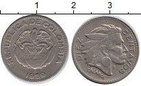 Изображение Монеты Колумбия 10 сентаво 1959 Медно-никель VF