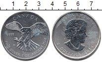 Изображение Монеты Канада 5 долларов 2014 Серебро UNC-