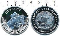 Изображение Монеты Франция 1 1/2 евро 2007 Серебро Proof