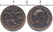 Изображение Монеты Канада 1 цент 1990 Бронза UNC