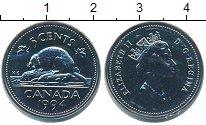 Изображение Монеты Канада 5 центов 1994 Медно-никель UNC