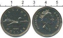 Изображение Монеты Канада 1 доллар 1990 Латунь UNC