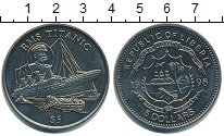Изображение Монеты Либерия 5 долларов 1998 Медно-никель UNC