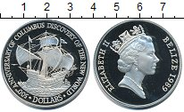 Изображение Монеты Белиз Белиз 1989 Серебро Proof