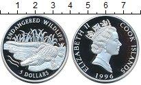 Изображение Монеты Острова Кука 5 долларов 1996 Серебро Proof