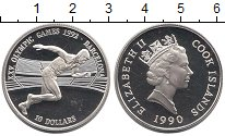 Изображение Монеты Острова Кука 10 долларов 1990 Серебро Proof