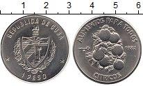 Изображение Монеты Куба 1 песо 1982 Медно-никель UNC