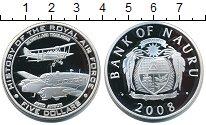 Изображение Монеты Науру 5 долларов 2008 Серебро Proof- История королевской