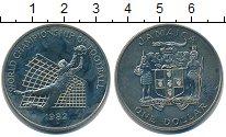 Изображение Монеты Ямайка 1 доллар 1982 Медно-никель UNC-