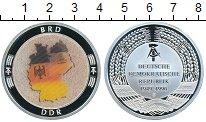 Изображение Монеты Германия жетон 0 Посеребрение Proof Объединение Германии