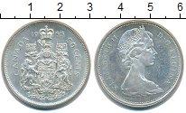 Изображение Монеты Канада 50 центов 1965 Серебро UNC- Елизавета II