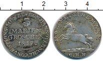 Изображение Монеты Ганновер 3 гроша 1817 Серебро XF Георг III