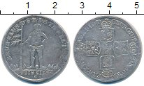 Изображение Монеты Брауншвайг-Люнебург-Каленберг-Ганновер 1/6 талера 1722 Серебро VF