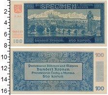 Богемия и Моравия 100 крон 1940