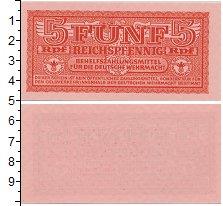 Изображение Банкноты Третий Рейх 5 пфеннигов 0  UNC-