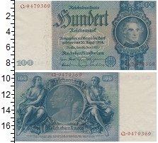 Изображение Банкноты Третий Рейх 100 марок 0  XF
