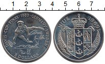 Изображение Монеты Ниуэ 5 долларов 1989 Медно-никель UNC