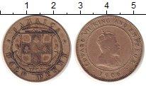 Изображение Монеты Ямайка 1/2 пенни 1906 Медно-никель VF Британский  протекто
