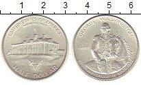 Изображение Монеты США 1/2 доллара 1982 Серебро UNC-