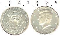Изображение Монеты США 1/2 доллара 2002 Серебро UNC-