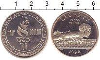 Изображение Монеты США 1/2 доллара 1996 Медно-никель Proof-