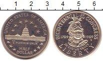 Изображение Монеты США 1/2 доллара 1989 Медно-никель Proof-