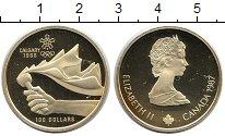 Изображение Монеты Канада 100 долларов 1987 Золото Proof-