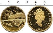 Изображение Монеты Канада 200 долларов 1996 Золото XF