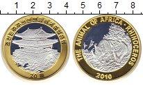Изображение Монеты Северная Корея 20 вон 2010 Биметалл UNC