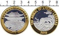 Изображение Монеты Северная Корея 20 вон 2010 Биметалл Proof-