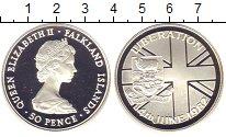 Изображение Монеты Фолклендские острова 50 пенсов 1982 Серебро Proof-