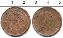 Изображение Монеты Саравак 1 цент 1937 Бронза XF