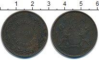 Изображение Монеты Остров Святой Елены 1/2 пенни 1821 Медь XF