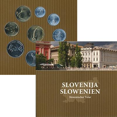 Набор монет Словения Словения 1993-2006 UNC