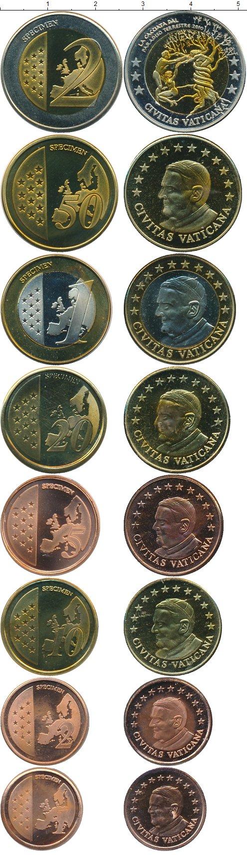 Картинка Подарочные монеты Ватикан Европроба 2010 года  2010
