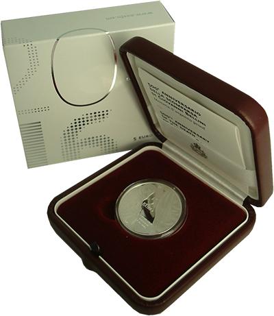 Изображение Подарочные монеты Сан-Марино Джованни Беллини 2016 Серебро Proof Монеты номиналом 5 е