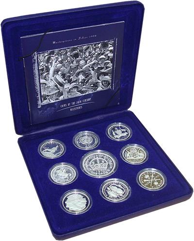 Изображение Подарочные монеты Австралия Монеты XX века 1998 Серебро Proof В набор входят восем