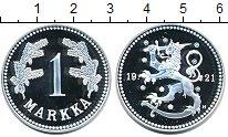 Изображение Монеты Финляндия 1 марка 1921 Серебро Proof