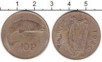 Изображение Барахолка Ирландия 10 евроцентов 1980 Медно-никель XF