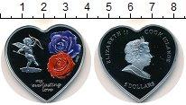 Изображение Мелочь Острова Кука 5 долларов 2008 Серебро Proof Елизавета II.  Цветн