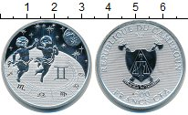 "Изображение Монеты Камерун 500 франков 2010 Серебро Proof <div><font face=""ari"
