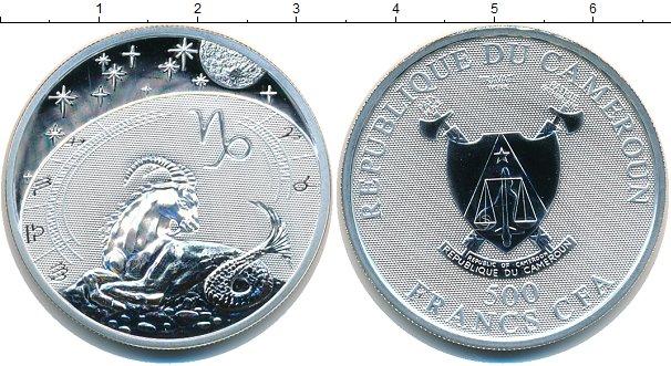 Картинка Мелочь Камерун 500 франков Серебро 2010