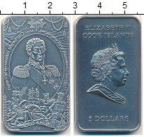 Изображение Мелочь Острова Кука 5 долларов 2010 Серебро UNC-