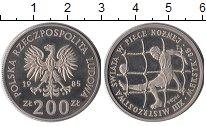 Изображение Монеты Польша 200 злотых 1985 Медно-никель UNC