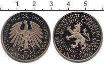 Изображение Мелочь Германия ФРГ 5 марок 1986 Медно-никель Proof-